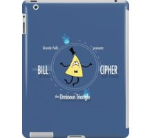 Bill Cipher the Ominous Triangle iPad Case/Skin