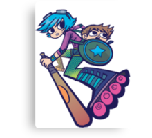 Ramona - Scott Pilgrim Canvas Print