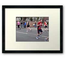Marathon Man No 5835 Framed Print