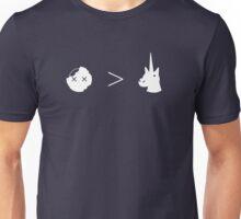 Zombies Greater Than Unicorns Unisex T-Shirt
