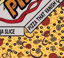 Ninja Pizza - Attitude Sticker