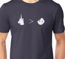 Unicorns Greater Than Zombies Unisex T-Shirt