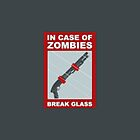 In Case Of Zombies... Break Glass by beastlyD