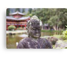 Temple Valley Buddha Canvas Print