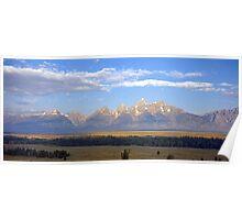 Teton Skyline Poster