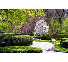 Central Park Conservatory Gardens, NYC Photographic Print