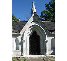 A Mausoleum in Woodland Cemetery Photographic Print