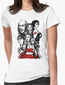 Rocky Horror Picture Show Womens Fitted T-Shirt