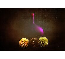 Bottle of Wine Photographic Print