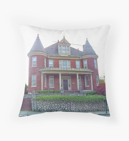 Old And Historic Throw Pillow