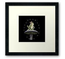 ✾◕‿◕✾FROG=FULLY RELY ON GOD>>FROG IPHONE CASE-PILLOW-JOURNAL-TOTE BAG-SCARF-ECT✾◕‿◕✾ Framed Print