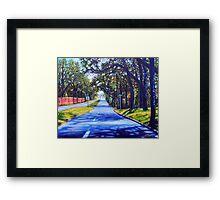 'Providence Road'  Framed Print