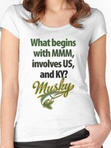 Spell Musky Women's Fitted Scoop T-Shirt