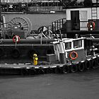 Tug Boat by blackchairphoto