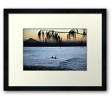 All the time in the world Framed Print