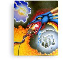 Dragons Rock! Canvas Print
