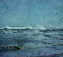 Wild Blue - High Surf - Outer Banks by MotherNature