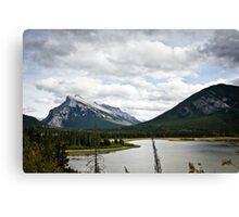 Mount Rundle Landscape Canvas Print