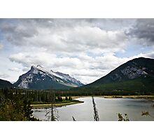 Mount Rundle Landscape Photographic Print