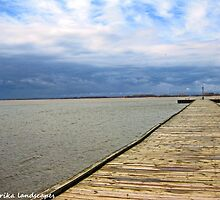 Rondeau boardwalk by Erykah36