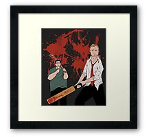 You've got red on you! Framed Print