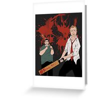 You've got red on you! Greeting Card