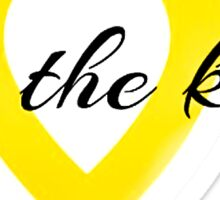 Dance Marathon - For The Kids (Cut Out) Sticker