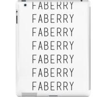 faberry iPad Case/Skin