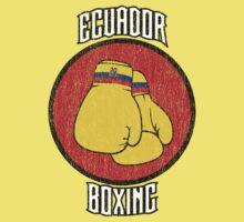 Ecuador Boxing Baby Tee