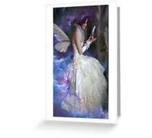 RECORDS KEEPER OF THE FAE Greeting Card
