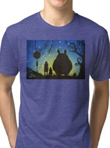 Small Spirits (Totoro) Tri-blend T-Shirt