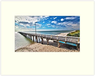 Seaford Pier Victoria, Mornington Peninsula, Australia, Seascape by Ben  Cadwallader