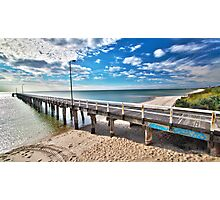 Seaford Pier Victoria, Mornington Peninsula, Australia, Seascape Photographic Print