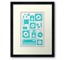 Four To The Floor Framed Print