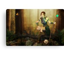 Woodland Whispers Canvas Print