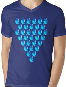TEARDROP Mens V-Neck T-Shirt