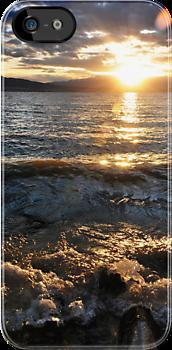 Beach at Sunset by Ryan Houston