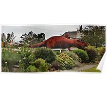 Dinosaurs of Northern California Poster