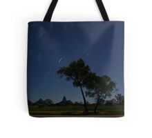 Glasshouse Mountains Startrails Tote Bag