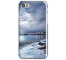 Ice Shards, Frozen Lake iPhone Case/Skin