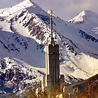 Mount Timpanogos LDS Temple, Spring by Ryan Houston
