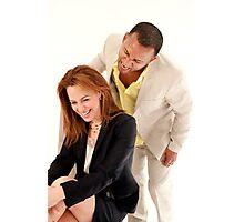 Yeni & Chris Photographic Print