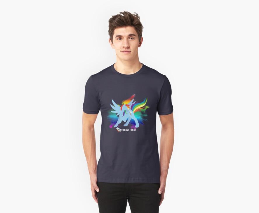 Rainbow Dash Silhoutette by jewlecho