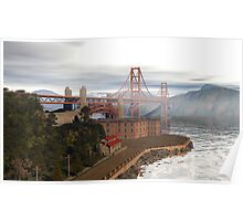 The Crossing At Fort Point Poster