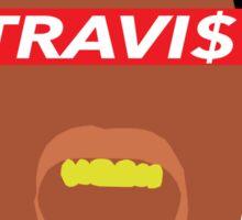 Minimal Travi$ Sticker