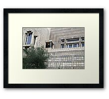 Ennis House, Frank Lloyd Wright Framed Print