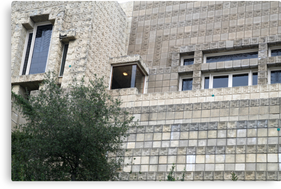 Ennis House, Frank Lloyd Wright by Jane McDougall