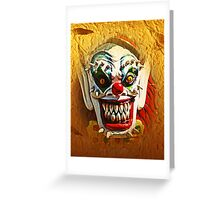 The Face Of Evil Greeting Card