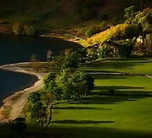 Buttermere Evening Shadows by brianhardy247