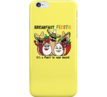 Breakfast Fiesta  iPhone Case/Skin